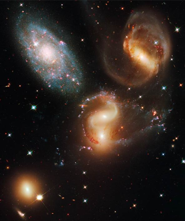 Hickson Compact Group 92, Stephan's Quintet
