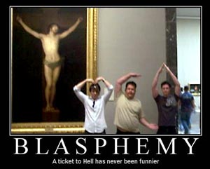 blasphemy