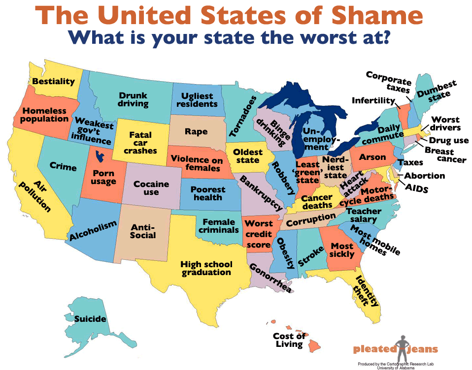 Is Maine the dumbest state in the Union?
