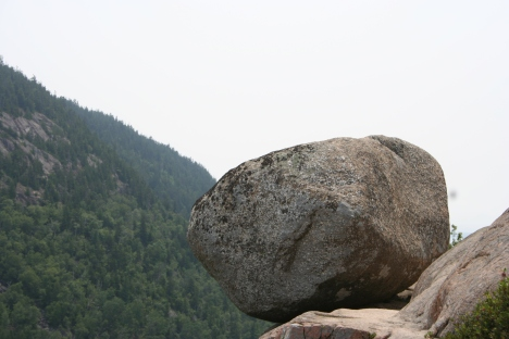 Bubble Rock, Acadia