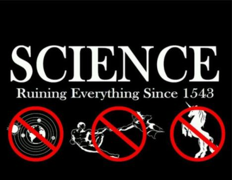 Science ruining everything
