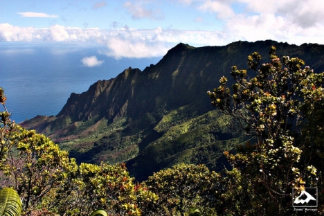 Kalalau Lookout, Kauai, Hawaii